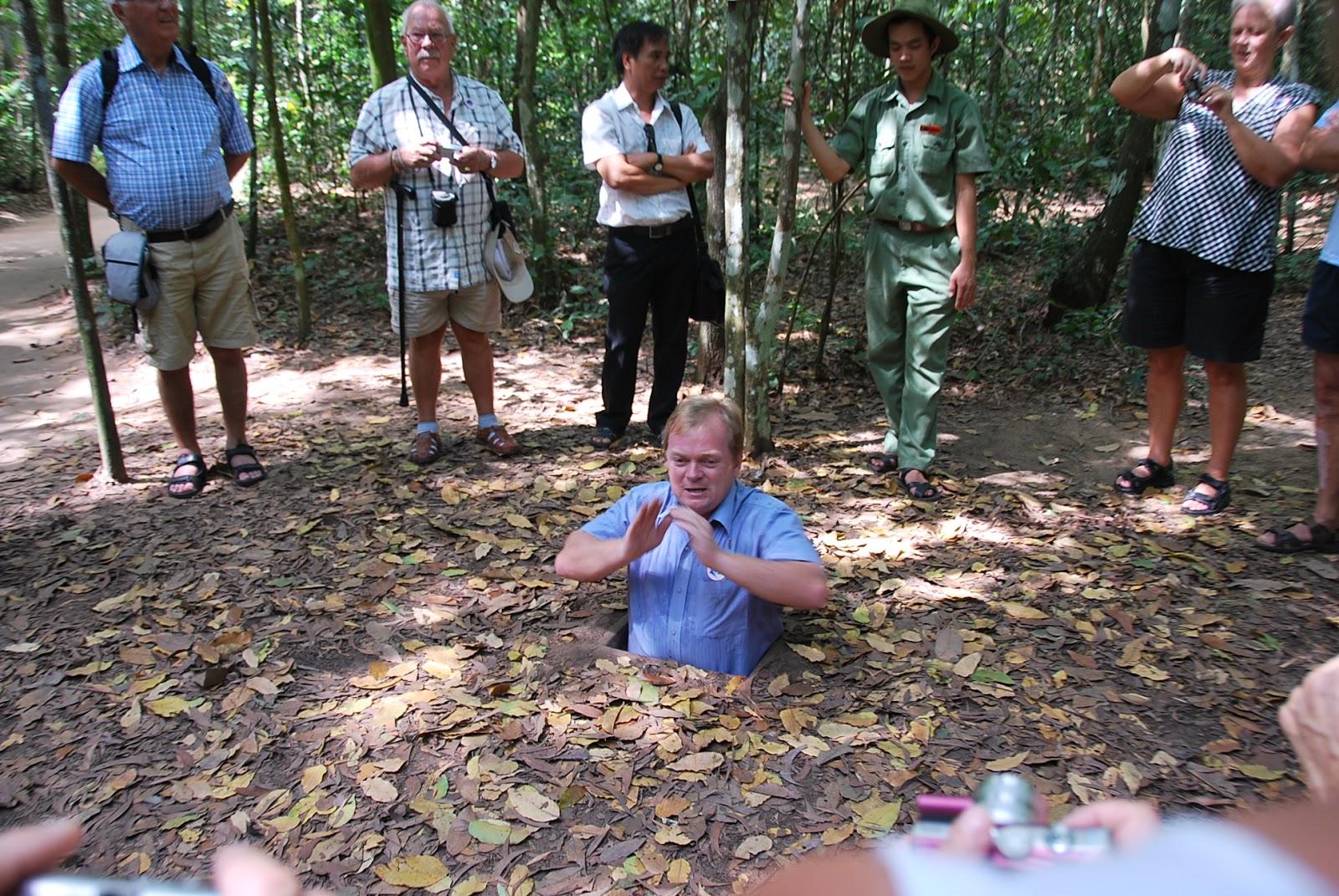 Cu Chi Tunnel - Nha Trang Transfer Service